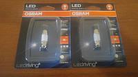 C5W Лампочка освещения салона авто OSRAM C5W LED 12V 1W 6000K 36MM SV8,5-8 / CW - ХОЛОДНЫЙ БЕЛЫЙ СВЕТ
