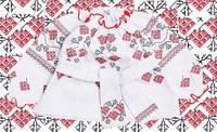 Красивая вышиванка для девочки UK (2-6 лет)