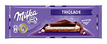 Шоколад Milka Triolade (Милка триоладэ) 300 г. Швейцария