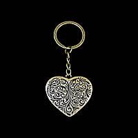 Брелок Сердце (бронза)