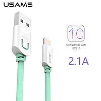Дата кабель USAMS lightning для Apple iPhone 6/6 plus/5/5S/5C/SE (1m)