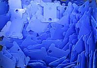 Шпули пластиковые для мулине, синие