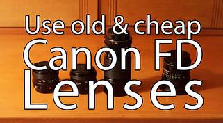 Об'єктиви для Canon FL/FD