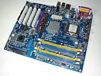 S 775 ПЛАТА для ТЕСТОВ - ОДНОВРЕМЕННО есть и PCI-E и AGP, и DDR1 и DDR2 понимает 4ЯДРА s775