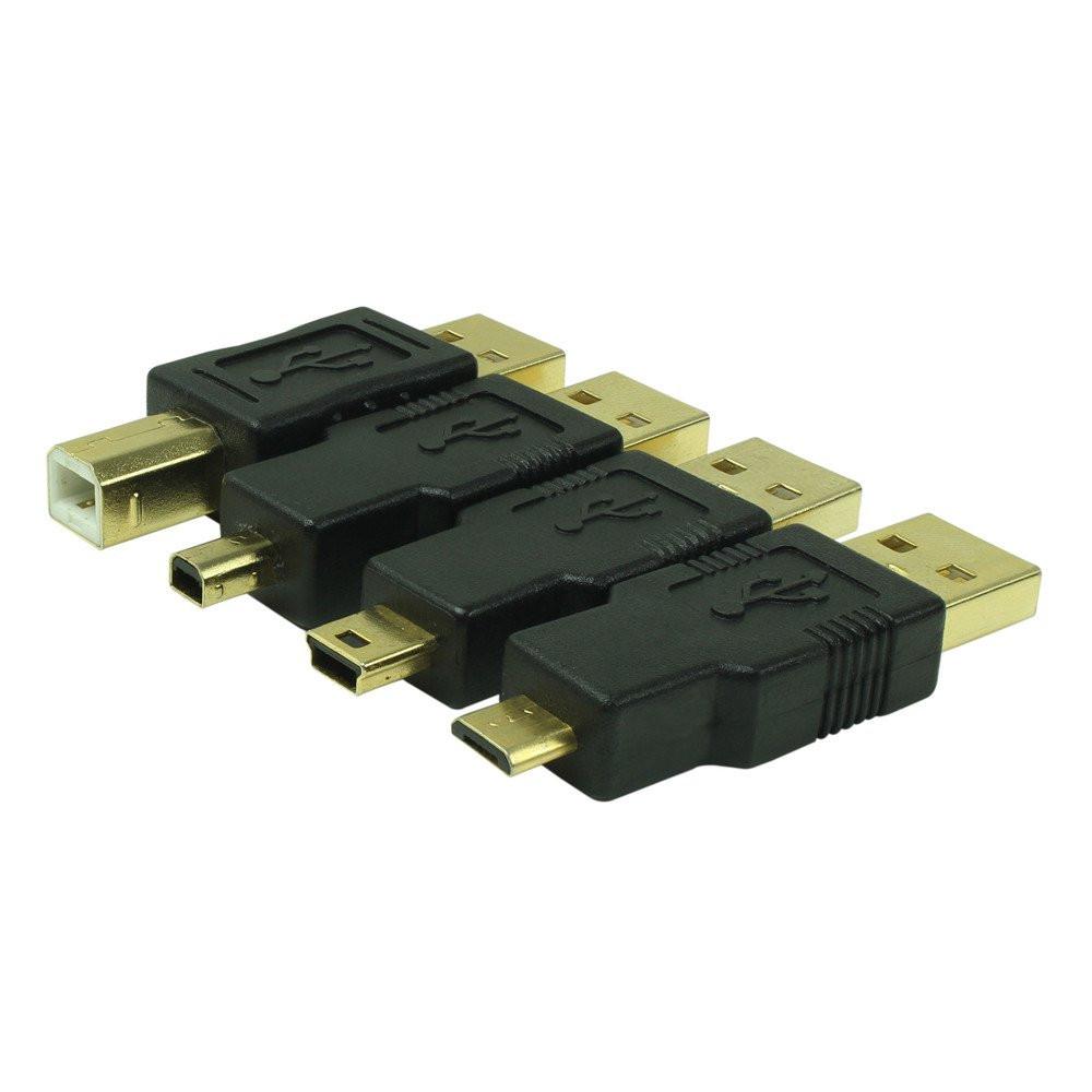 Набор переходников с кабелем Promate linkMate-u5 USB-адаптер 5-в-1 3 м