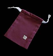 Мешочек Скіфська Етніка, бордовый (10,5х13,5 см), уп 5 шт