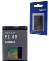 Аккумулятор Nokia BL-4B 5000, N76, 2630, 2760, 6111, 7370, 7373, 7500 Prism, 7070
