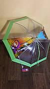 Детский зонт-трость изображением Маши на 4-9 лет.