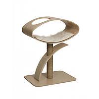 Дизайнерская когтеточка Hagen Vesper V-High Lounge Poplar для кошек, 70 х 50 х 95 см