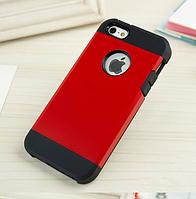 Стильный чехол бампер для iPhone 5 5S красный