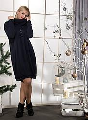 Женское ангоровое платье (50-64) 8150.1