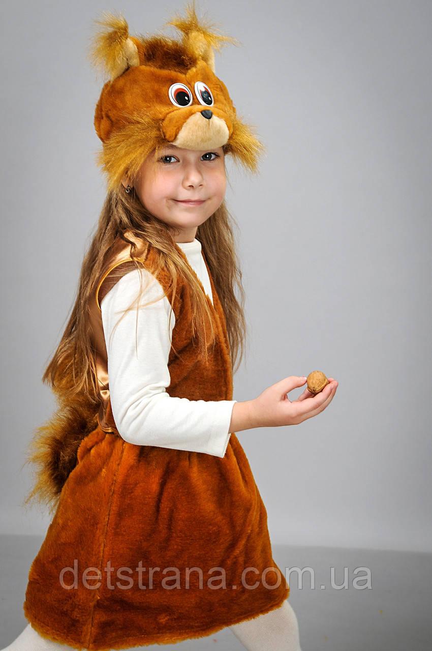 Детский Карнавальный костюм Белка: продажа, цена в ... - photo#46
