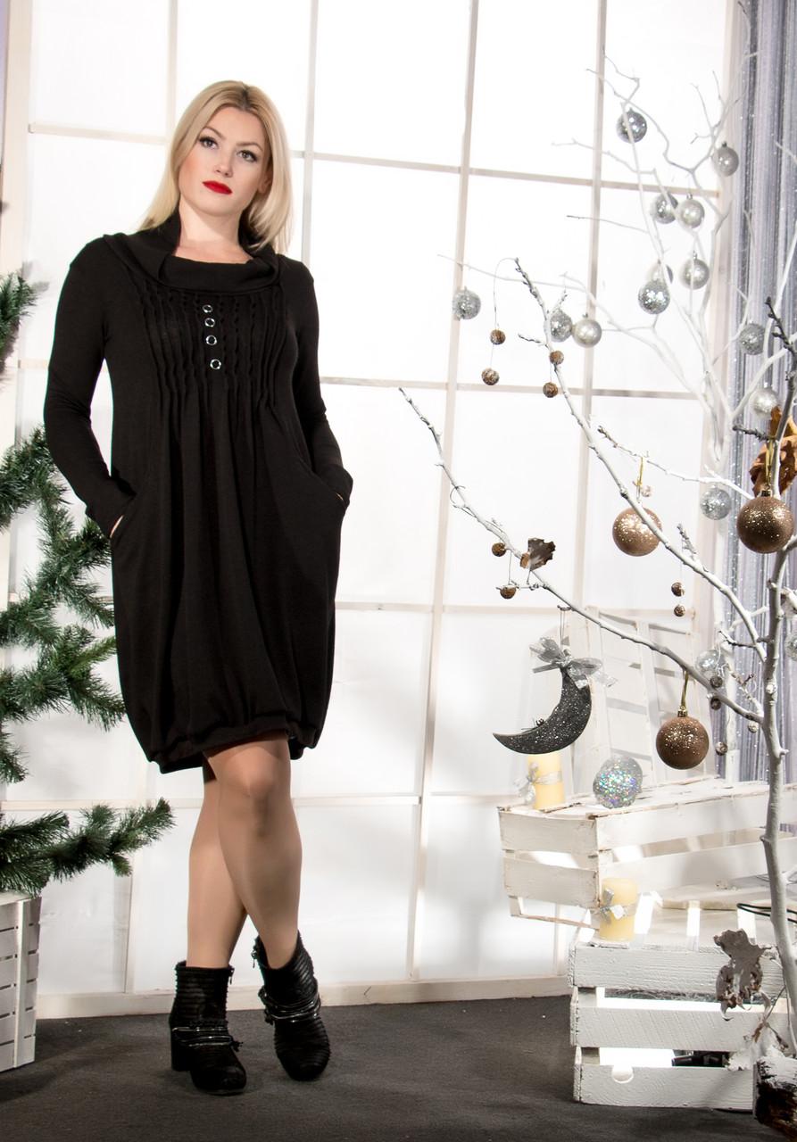 Женское ангоровое платье (50-64) 8150.2