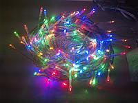 Гирлянда нить светодиодная 160 LED мульти цвет