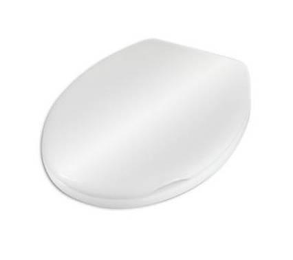 Крышка для унитаза белая Rumba AWD02181060