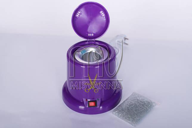 Кварцевый (шариковый) стерилизатор Tools Sterilizer YM-9001B для инструментов (violet), фото 2
