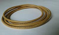 Шнур U0378  парафин. коричневый 3 мм