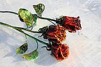 Кованая роза в Днепропетровске