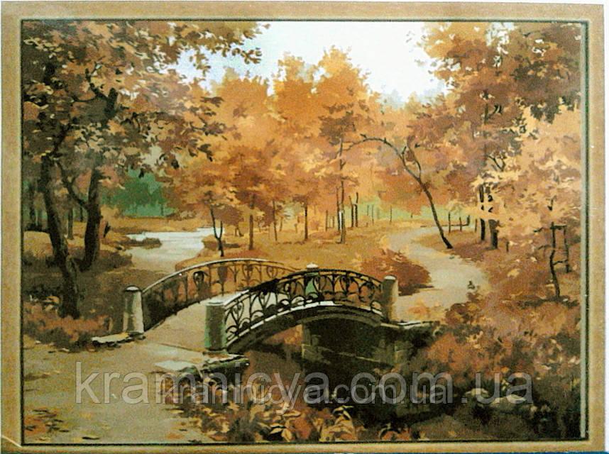 Картина по номерам. Осенний парк, 40х50см. (MG287, КН287)