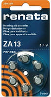 Батарейка для слуховых аппаратов Renata ZA13 maratone+