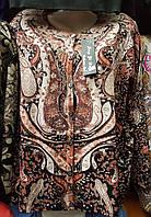 Женская кофта в модный принт