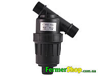 """Фильтр 1"""", сетчатый - промывной, (120 мкм, до 5 м.куб/ч, до 7 bar)"""