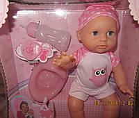 Пупс писяющий Baby Doll 35 см 2 вида