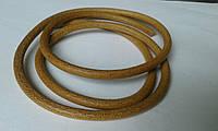 Шнур U0378  парафин. коричневый 6  мм