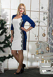 Женское платье с ажуром (48-56) 8060.2