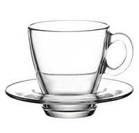 """Чашка с Блюдцем """"Аква"""" 70мл (95756)"""