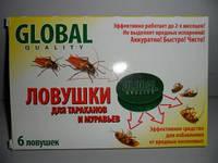 Ловушки от тараканов и муварьев (6шт)Glodal
