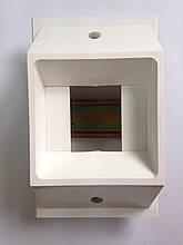 Щиток под 2/4 модульный автомат для установки в кабельный канал 100 мм, MRE100