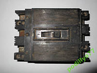 Вимикач автоматичний ( автомат ) б/у  А3163 15А