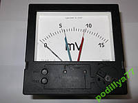 Миливольтметр регулирующий ЭВ3000К 0...15 mV