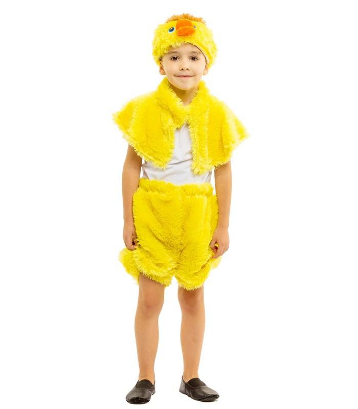 Карнавальный костюм утенка оптом 7 км