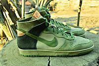 Кроссовки кожаные Nike , 29 см, 45 размер. Код: 341.