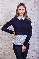 Брендовая кофта-блузка для девушек осень 2016 - Артикул кф-44