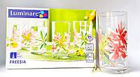 Набор высоких стаканов Luminarc Freesia 6 штук, 270 мл, J3262