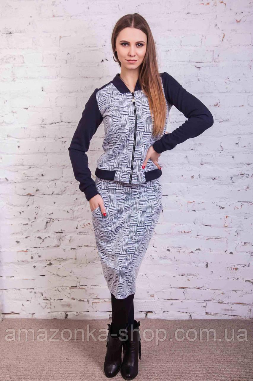 Модный женский костюм от производителя - модель 2018 - Код кос-5