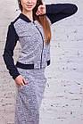 Модный женский костюм от производителя - модель 2018 - Код кос-5, фото 2