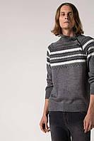 Мужской свитер De Facto темно-серого цвета в рисунок, фото 1