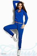 Ангоровый спортивный костюм. Цвет синий электрик.