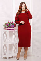 Платье теплое для пишек, размер 56, код 3059М