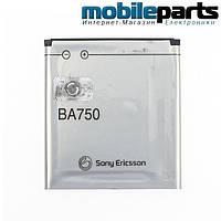 АКБ батарея АА STANDART SONY ERICSSON BA750  1500mAh