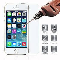 Защитное стекло 9H для Apple iPhone 5 / 5S / 5C / SE