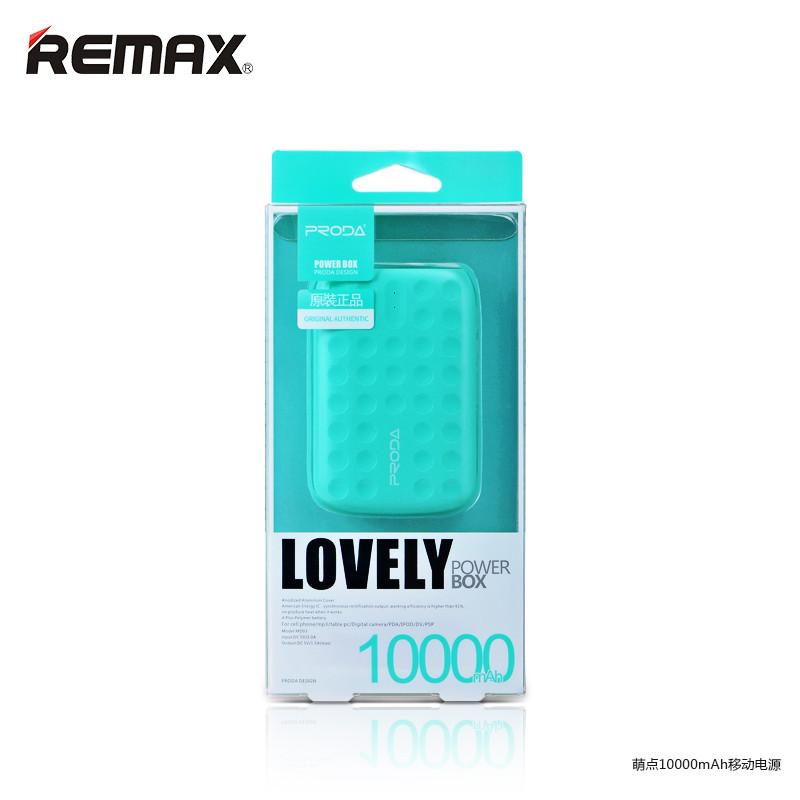 Універсальна мобільна батарея Power Bank Proda PPL-3 Lovely 10000 mAh black (Оригінал)