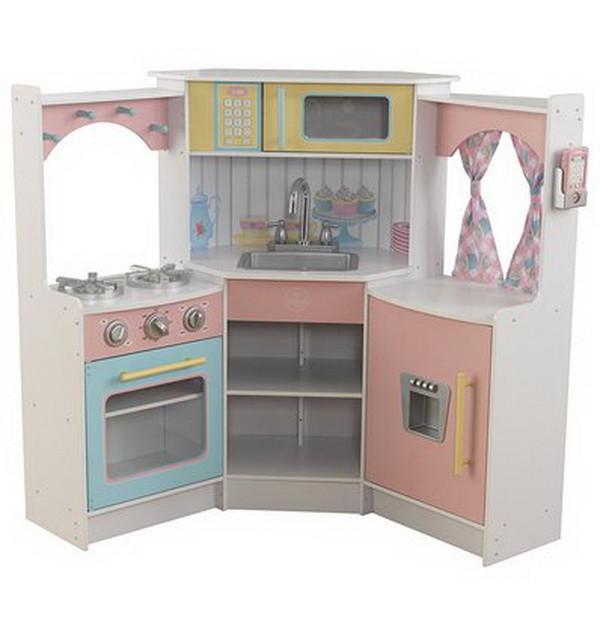 Детская угловая кухня Kidkraft Deluxe 53368
