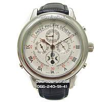 Часы Patek Philippe Sky Moon Silver/White. Replica: ААА., фото 1