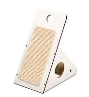 Когтеточка Hagen Vesper V-Playstation White для кошек, белая, 37 х 23,5 х 44 см