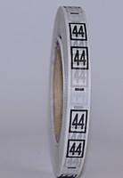 Размерник накатка пришевной(720шт)№ 44